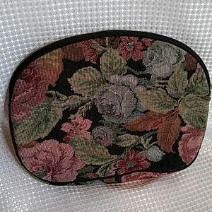 Oscar de la Renta floral tapestry bag